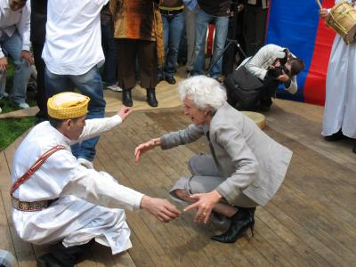 Minister Cramer: Atalantajongeren een voorbeeld! (mei 2007)