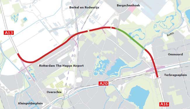 Reactie startnotitie A13/A16 Rotterdams Milieucentrum