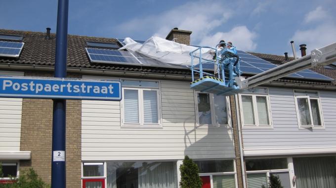 Hoek van Holland start zonnestroomproject