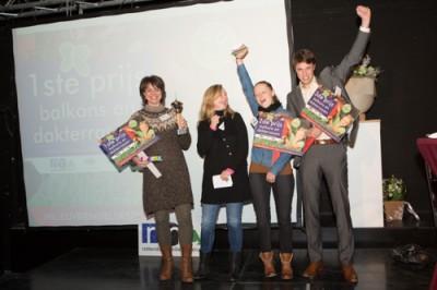 Uitreiking van de tuinenbokaal 2012!