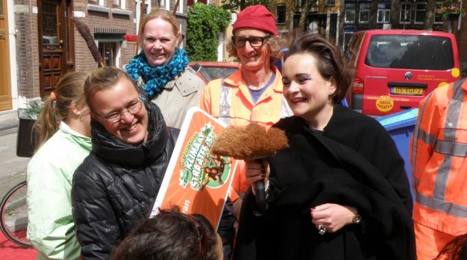 Schieveenstraat nummer 1 Klimaatstraat van Rotterdam