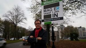Wethouder Pex Langenberg is verantwoordelijk voor de luchtkwaliteit in Rotterdam