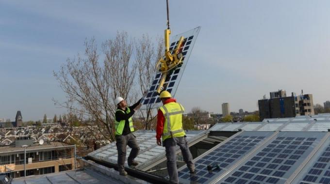 Rotterdam GA voor groene stroom!