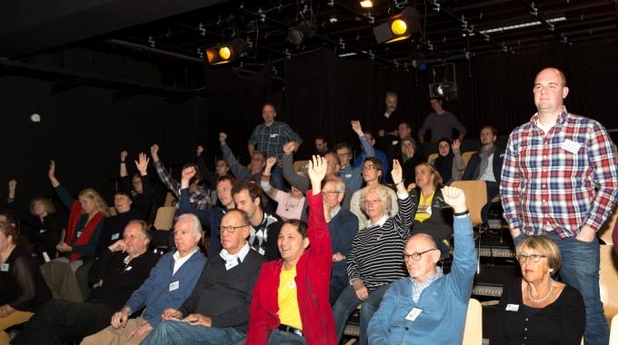 Zaterdag 25 november 't Energiecafe010 in de Nieuwe Banier