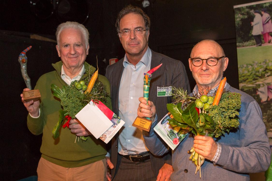 Uitgereiking groene prijzen tijdens Groeneconferentie