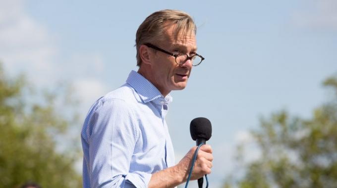 De Groenrede(n) van Wim Pijbes bij opening Parkenmaand