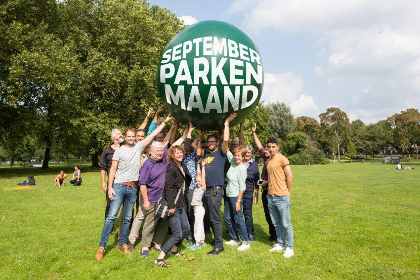 September = Rotterdamse Parkenmaand