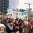 Ruim 1500 mensen liepen mee met de klimaatmars Rotterdam