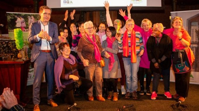 Groenevogel 2019 voor het Zelfregiehuis & de Roze Brigade