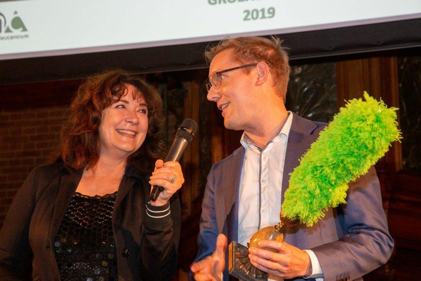 De Groene Pluim 2019 voor de Rotterdamse wethouder Arno Bonte